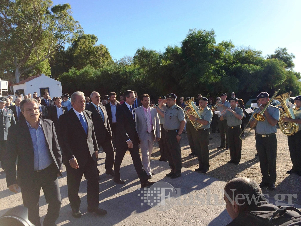 Ο Πρωθυπουργός στο Μάλεμε για την Μάχη της Κρήτης