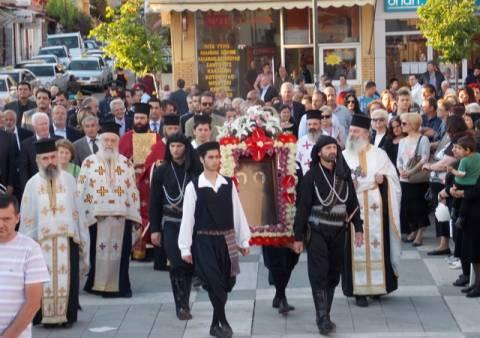 Αγρίνιο: Κορυφώθηκαν οι εορταστικές εκδηλώσεις στον Άγιο Κωνσταντίνο