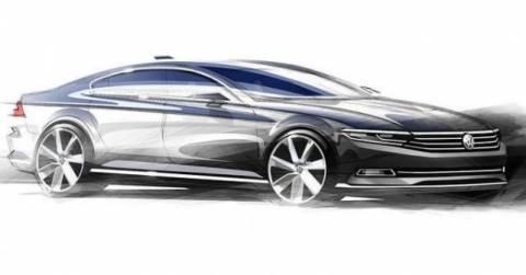 Νέο VW PASSAT: τα πρώτα επίσημα σκίτσα της 8ης γενιάς