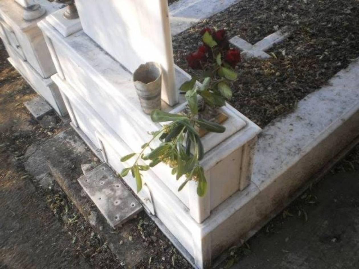 Βεβήλωσαν νεκροταφείο στην Υπάτη