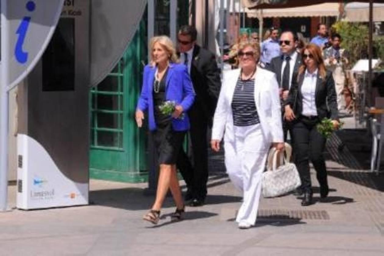 Τις αρχαιότητες επισκέφθηκε η σύζυγος του Αντιπροέδρου των ΗΠΑ στη Κύπρο
