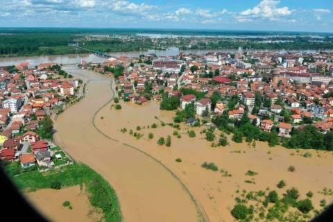 Σερβία: Σε περίπου 174,5 εκατ. ευρώ υπολογίζονται οι ζημιές από τις πλημμύρες