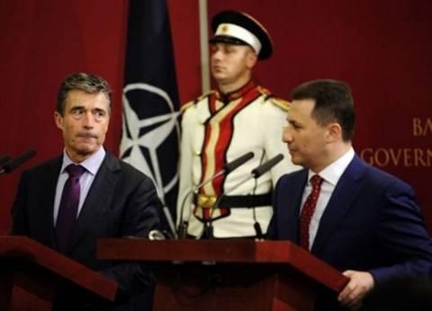 Ράσμουσεν προς Σκόπια: Προϋπόθεση ένταξης στο ΝΑΤΟ η λύση για την ονομασία