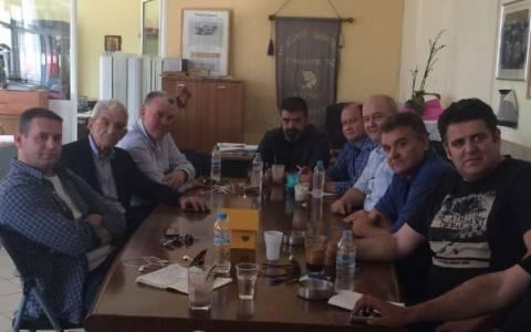 Εκλογές 2014: Με τους ιδιοκτήτες ταξί συναντήθηκε ο Μπουτάρης
