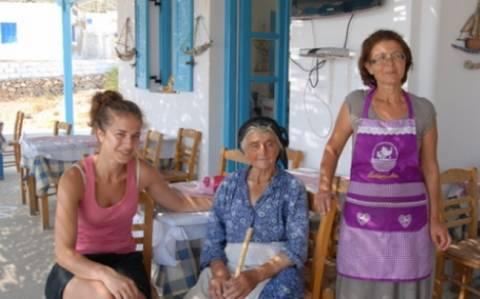 Η 82χρονη που ζει ολομόναχη στη Δονούσα
