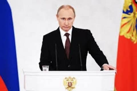 Πούτιν: «Η Ουκρανία σπαράσσεται από έναν αληθινό εμφύλιο πόλεμο»
