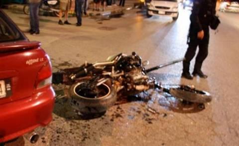 Καλαμάτα: Τροχαίο με έναν νεκρό σε σύγκρουση αυτοκινήτου με δίκυκλο