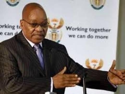 Ν.Αφρική: Πρόεδρος για δεύτερη θητεία ορκίστηκε ο Ζούμα