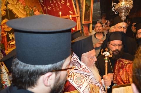 Στη Βηθλεέμ ο Οικουμενικός Πατριάρχης Βαρθολομαίος (photos)