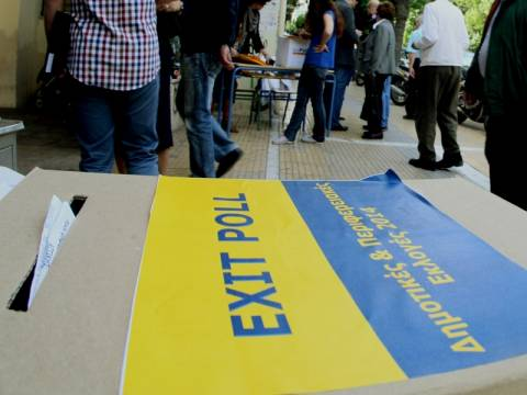 Exit Poll 2014: Τα πρώτα αποτελέσματα των καναλιών