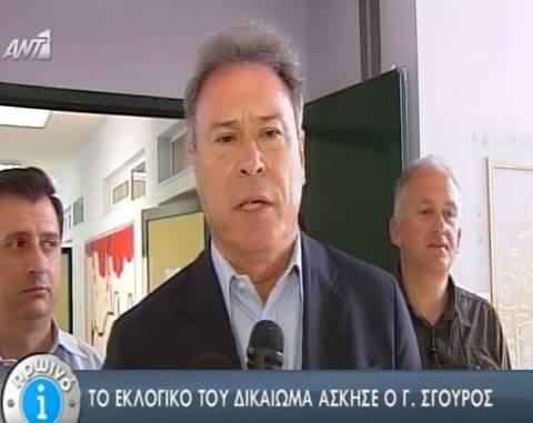 Περιφερειακές Εκλογές 2014-Σγουρός: Σήμερα μιλούν οι πολίτες (vid)