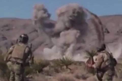 ΗΠΑ: Μαχητικό αεροσκάφος καταστρέφει εξωγήινο τέρας! (video)