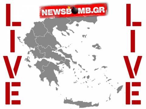 Τα αποτελέσματα δημοτικών εκλογών, ευρωεκλογών και περιφερειακών LIVE στο Newsbomb