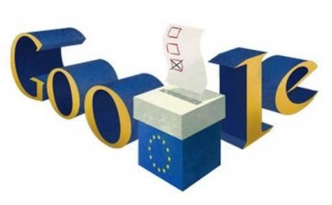 Ευρωεκλογές 2014: Αφιερωμένο στις Ευρωεκλογές το Doodle της Google