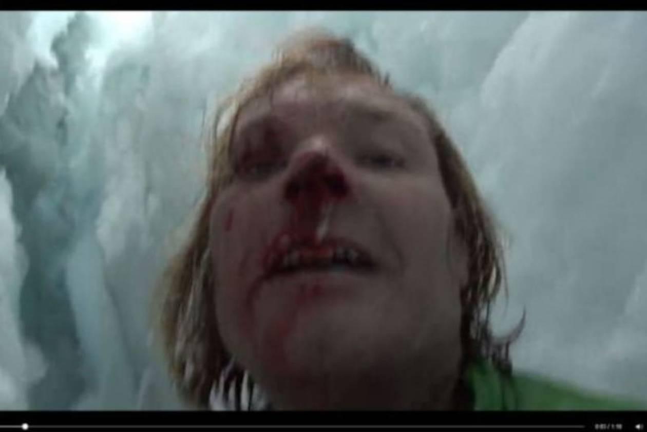 Ιμαλάια: Έπεσε 21 μέτρα στον πάγο και σώθηκε από το Facebook! (video)