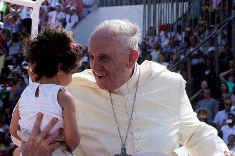 Πάπας Φραγκίσκος: Έκκληση για ειρήνη σε Παλαιστίνιο και Ισραηλινό πρόεδρο