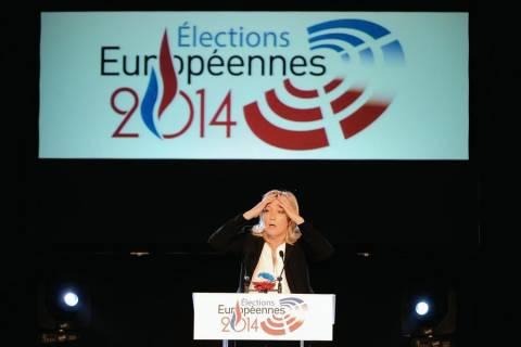 Ευρωεκλογές 2014: ΣΟΚ από τη νίκη της Ακροδεξιάς στη Γαλλία