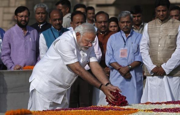 Ορκίζεται ο ινδός πρωθυπουργός (pics)