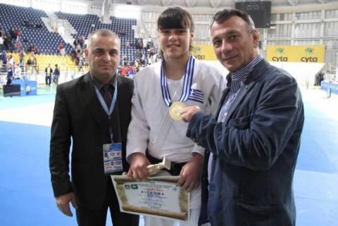 Τζούντο: Χρυσό μετάλλιο για την Τελτσίδου στο τουρνουά της Ισπανίας