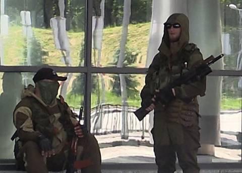 СМИ: В аэропорту Донецка сбит вертолёт
