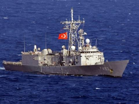 Τουρκικές φρεγάτες έφτασαν στις Κυκλάδες