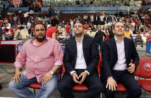 Ολυμπιακός: Στο ΣΕΦ ο Μαρινάκης (photos)