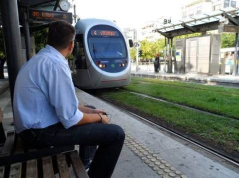 Διακοπές δρομολογίων του τραμ Τρίτη και Τετάρτη