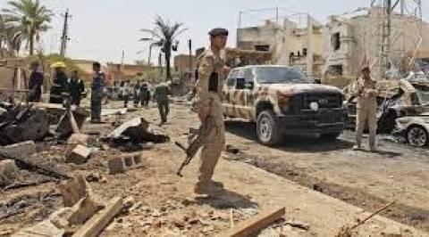 O ιρακινός στρατός χρησιμοποίησε βαρέλια με εκρηκτικά στη Φαλούτζα