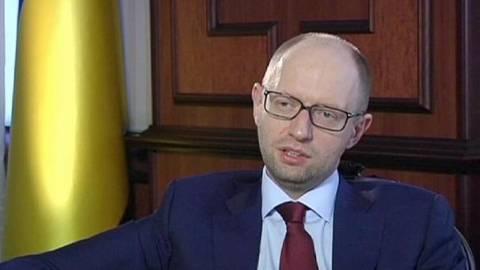 Ουκρανία: Το μήνυμα του Γιατσενιούκ στον Πούτιν