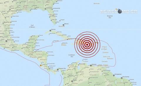 Σεισμός 5,8 Ρίχτερ στη Δομινικανή Δημοκρατία