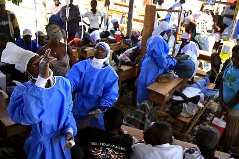 «Θερίζει» η χολέρα στην Αϊτή