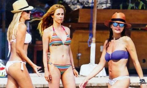 Βανδή – Μαστροκώστα – Παπαδημητρίου: Γοητευτικές μαμάδες στην παραλία