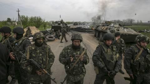 Επιχείρηση του στρατού σε πόλεις της ανατολικής Ουκρανίας