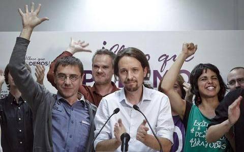 Podemos: Η έκπληξη των ευρωεκλογών έρχεται από τους δρόμους της Ισπανίας