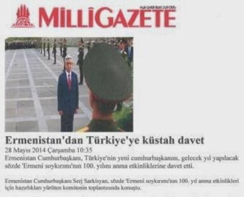 Πρόσκληση στον Ερντογάν να προσκυνήσει το μνημείο αρμενικής γενοκτονίας