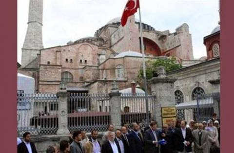 Εκστρατεία Τούρκων διανοούμενων για να μείνει τζαμί η Αγ. Σοφία