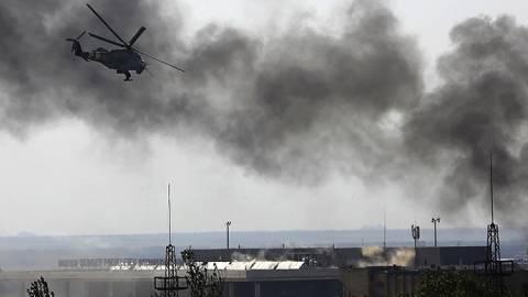 Ουκρανία: Συνεχίζονται οι βομβαρδισμοί στο Σλαβιάνσκ
