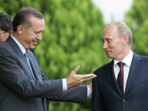 Τηλεφωνική επικοινωνία Πούτιν-Ερντογάν