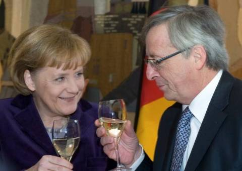 Merkel supports Juncker for the presidency of the European Commission