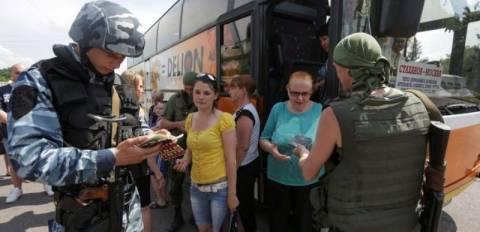 Σλαβιάνσκ: Μαζική έξοδος