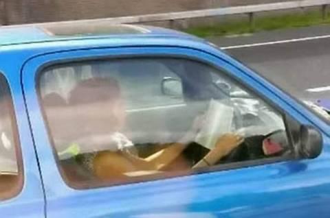 Ο ορισμός της επικίνδυνης οδήγησης! (pics)