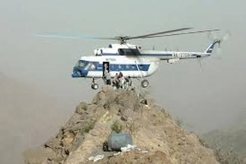 В Мурманской области разбился вертолет Ми-8, 16 человек пропали без вести