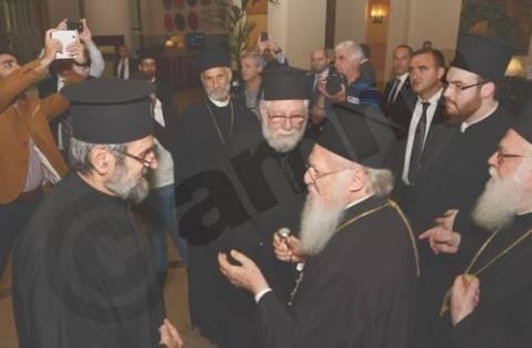 Ολοκληρώθηκε η τελετή εγκαινίων του νέου καθεδρικού ναού, στα Τίρανα