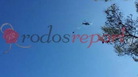 Ρόδος: Υπό έλεγχο η φωτιά στην Αρχίπολη