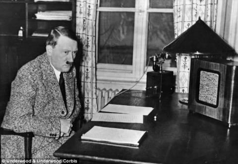 Βρέθηκε το παλιό γραφείο του Χίτλερ αλλά... (pics)