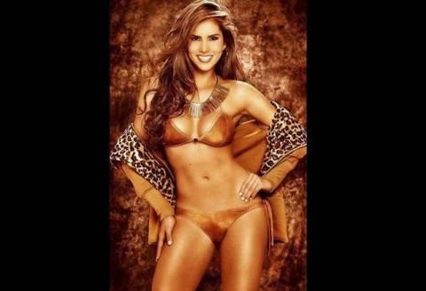 Μουντιάλ 2014: Aυτή είναι η Miss World Cup (pic)
