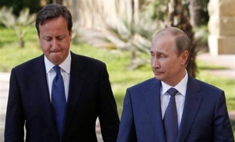 Συνάντηση Πούτιν- Κάμερον