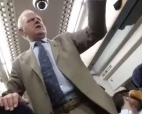 Ο μεθυσμένος συνταξιούχος ανέβασε το... κέφι! (βίντεο)