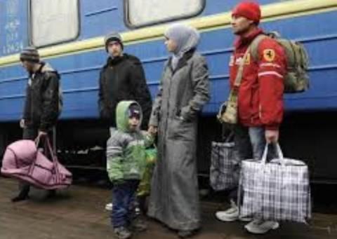 Ουκρανία: το κύμα προσφύγων συνεχίζεται