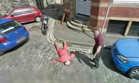Η υπηρεσία Google Street View, ανακάλυψε δολοφονία! (pics)